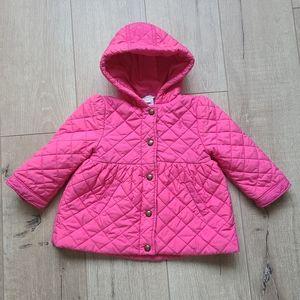 Ralph Lauren Baby Girl Pink Quilted Jacket
